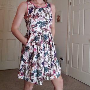 Fab'rik Floral Pocket Dress